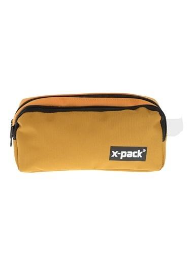 X-Pack Kalem Çantası Hardal